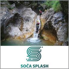 Soteskanje v Sušcu za 1 osebo, Soča Splash, Bovec (Vrednostni bon, izvajalec storitev: LIKONA D.O.O.)