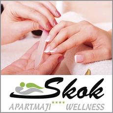 {[sl]:Estetska pedikura ali manikura po izbiri, Apartmaji & wellness Skok Mozirje, Mozirje (