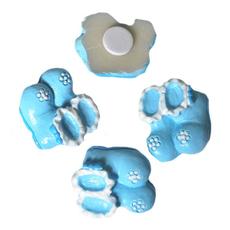 Copatki modri, polimasa, za nalepit, 2cm