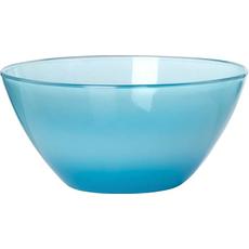 Skleda steklena, 14cm, modra