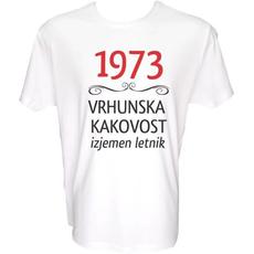 Majica-1973, vrhunska kakovost, izjemen letnik