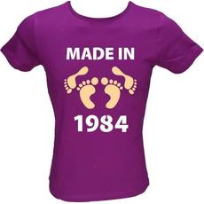 Majica ženska (telirana)-Made in 1984 noge