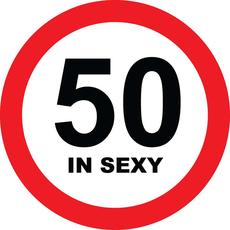 Prometni znak 50 let in sexy - 37cm, Arma