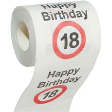 Toaletni papir, prometni znak 18, 10cm, L=20m, 200 lističev, dvoslojni