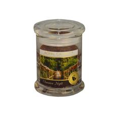 Dišeča sveča v steklu s pokrovom,Obsession night, 10/7,6cm