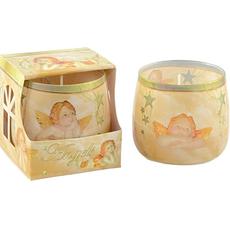 Dišeča sveča v steklu, vanilija, A-190