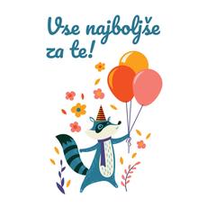 {[sl]:Voščilo, čestitka za rojstni dan, ot