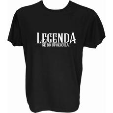 Majica-Legenda se bo upokojila M-črna