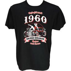 Majica-Najboljši letnik odlično ohranjen 1960 M-črna