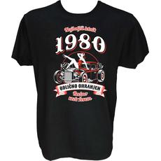 Majica-Najboljši letnik odlično ohranjen 1980 M-črna