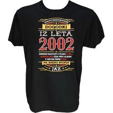 Majica-Najpomembnejši dogodki iz leta 2002 M-črna