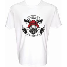 Majica-Najboljši gasilec M-bela