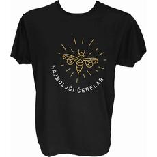 Majica-Najboljši čebelar M-črna