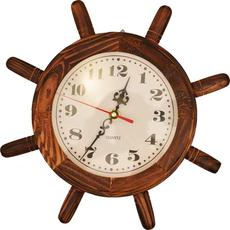 Ura stenska lesena krmilo 19,28cm