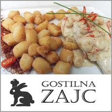Okusna pojedina v dvoje, Gostilna Zajc, Mala Loka (Vrednostni bon, izvajalec storitev: BURU D.O.O.)