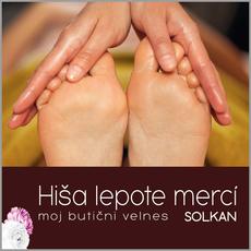 Indijska masaža stopal , Hiša lepote Merci, Solkan (Vrednostni bon, izvajalec storitev: POLONA VEGELJ S.P.)