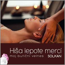 Indijska masaža glave, Hiša lepote Merci, Solkan (Vrednostni bon, izvajalec storitev: POLONA VEGELJ S.P.)