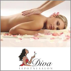 {[sl]:Klasična masaža telesa, Lepotni salon Diva, Orehova vas (Vrednostni bon, izvajalec storitev: ANDREA LOBEN