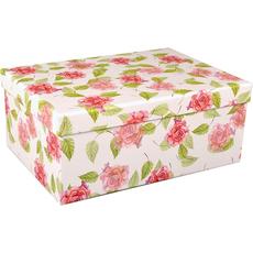 Darilna škatla kartonska cvetovi 29x22x12,5cm