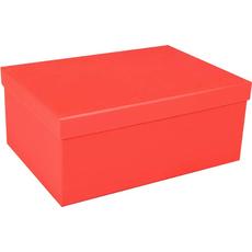 Darilna škatla kartonska rdeča 31x23x12,5cm