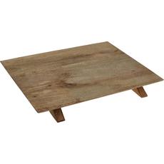 Servirna deska, les 30x38x4.5 cm