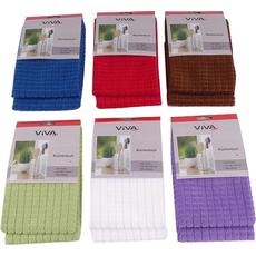 {[sl]:Gospodinjska  krpa za čiščenje več barv, 4Ox40cm, sort., 100% polyester 2/1
