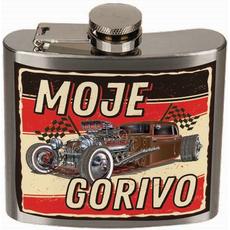 Prisrčnica kovinska Moje gorivo, 140ml