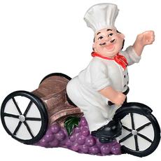 Držalo za steklenico kuhar na triciklu (brez kozarca) 21x11x20cm