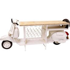 Stojalo/bar na kolesih za 12 buteljk Scooter kovina/les 244x48x99cm 90kg