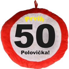Vzglavnik dekorativen rdeč Prvih 50 - Polovička!, 100% poliester
