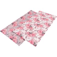 Namizni prt, 100% polyester, cvetlice 40x160cm