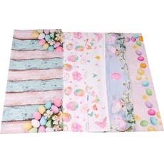 Namizni prt velikonočni 100% polyester, 80x80cm sort