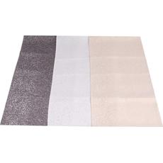 {[sl]:Namizni prt,zlat/srebrn/siv z  srebrnimi pikami 90% polyestre 10% srebrna preja 40x
