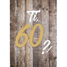 """{[sl]:Voščilo, čestitka za rojstni dan, 60, """"Pa tako dobro"""