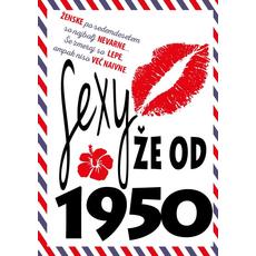 Voščilnica za ženske Sexy že od 1950