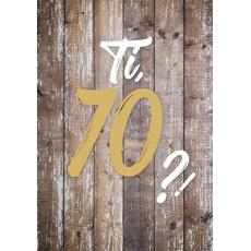 """{[sl]:Voščilo, čestitka za rojstni dan, 70, """"Pa tako dobro"""