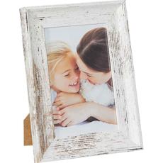 Okvir za sliko les zelen, vintage izgled, 19x24x2,5cm