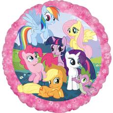 """Balon napihljiv, za helij, okrogel """"My little pony"""", 43cm"""