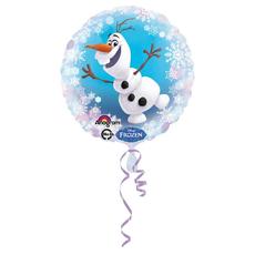 Balon napihljiv, za helij, otroški, Frozen/Olaf, 43cm