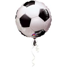 Balon napihljiv, za helij, otroški, nogometna žoga, 43cm