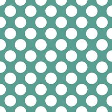 Papirnate serviete, zelene z belimi pikami, 33x33cm, 20kom