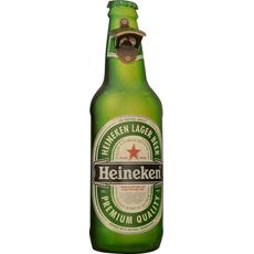 Odpirač kovinski stenski za steklenice Heineken 45x13cm