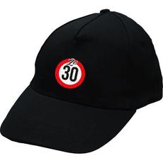 Kapa z vezenjem prometni znak 30 - Že!