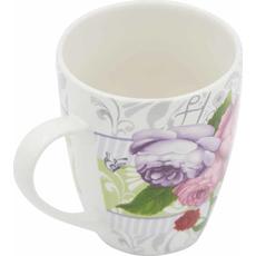 Lonček vrtnice porcelan 350ml sort
