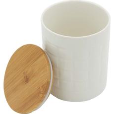 Posoda za shranjevanje z lesenim pokrovom 2/1 12cm