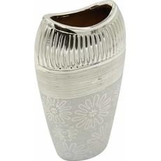 Vaza dekorativna, barve šampanjec 13,5x8,5x25cm