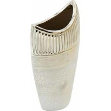 Vaza dekorativna, barve šampanjec 14x8x30,5cm