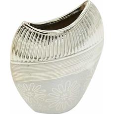 Vaza dekorativna, barve šampanjec 16x6,5x19,5cm