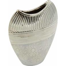 Vaza dekorativna, barve šampanjec 19x7x27cm