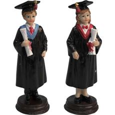 Diplomiranec/diplomiranka z diplomo 6,5x20cm sort